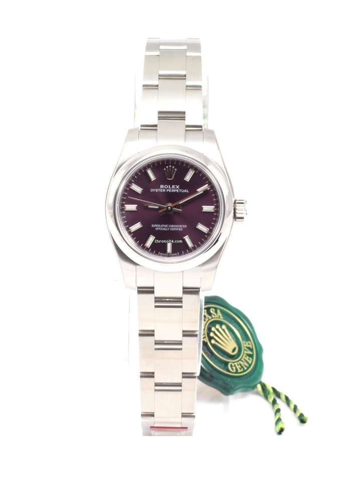 131b92e629f7 Rolex Oyster Perpetual 26mm Red Grape for  4