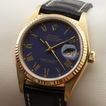 Rolex Datejust 18K Gold Gelbgold Herrenuhr Automatic