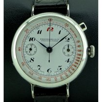 Eberhard & Co. | Silver Chronograph Monopoussoir, from '40