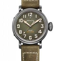 Zenith 11.1943.679/63.C800 Pilot Type 20 Extra Special 40mm Kaki