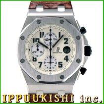 オーデマピゲロイヤルオーク オフショア ・中古・時計 (説明書付き)・42 x 47 mm・スチール