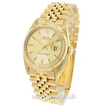 Rolex 1601 Yellow gold 1968 Datejust 36mm pre-owned United Kingdom, London
