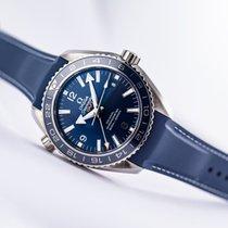 Omega Seamaster Planet Ocean Titanium 43.5mm Blue Arabic numerals United States of America, New Jersey, Princeton