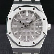 Audemars Piguet 15400ST.OO.1220ST.04 Royal Oak Ruthenium Dial...