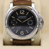 Panerai 44mm Manual winding pre-owned Luminor Marina 8 Days Black