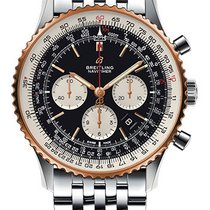Breitling Navitimer 01 (46 MM) Gold/Steel 46mm Black