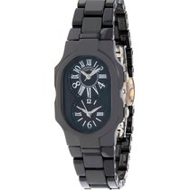 Philip Stein Ceramic 42mm Quartz 1CB-MB-CB new