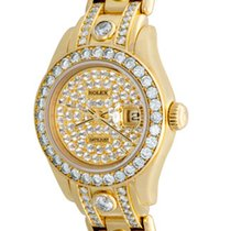 Rolex 69298 Yellow gold Lady-Datejust Pearlmaster 27mm pre-owned United States of America, Texas, Dallas