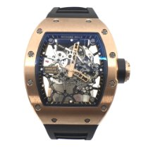 Richard Mille Rose gold Manual winding Transparent No numerals 48mm pre-owned RM 035