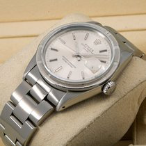 Rolex Oyster Perpetual Date Steel 34mm Silver No numerals United States of America, New York, NewYork