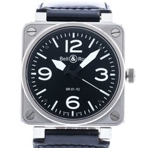 Bell & Ross BR 01-92 Steel 45mm Black United States of America, Georgia, Atlanta