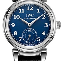 IWC Da Vinci Automatic Steel 40.4mm Blue Arabic numerals
