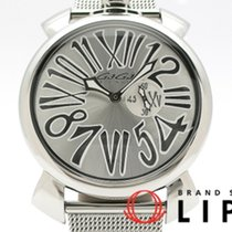 Gaga Milano pre-owned Quartz 46mm Silver