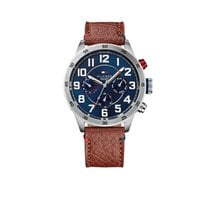 Tommy Hilfiger Steel 46mm Quartz 1791066 new