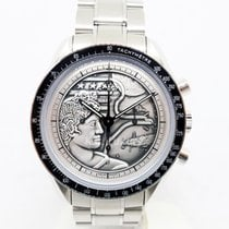 Omega Speedmaster Professional Moonwatch Steel 42mm Silver No numerals Singapore, Singapore