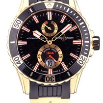 Ulysse Nardin pre-owned Automatic 44mm Black Sapphire crystal 30 ATM