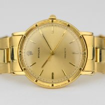 Rolex Oyster Precision Yellow gold 35mm Gold No numerals