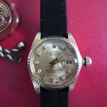 Rolex Datejust diamonds with Rolex service