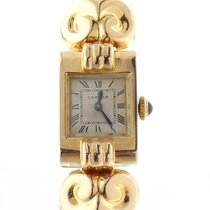 Cartier Early Vintage Cartier 18k Yellow Gold Tank On A...