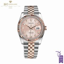 Rolex Datejust -  Steel and Rose Gold 116231 Jubilee Pink