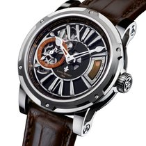 Louis Moinet Metropolis Steel 43mm