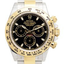 Rolex Daytona Gold And Steel Black Automatic 116503BK