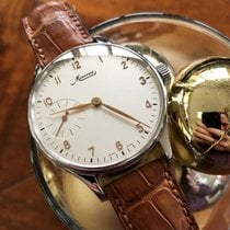 Minerva 43mm Manual winding 2001 pre-owned White