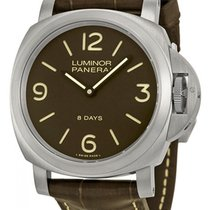 Panerai Luminor Base 8 Days neu 44mm Titan