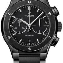 Hublot Chronograph 45,00mm Automatic 2019 new Classic Fusion Chronograph Black