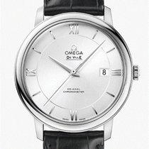 Omega De Ville Prestige Acero 39,50mm Plata Romanos