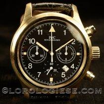 IWC 3741 Aur galben Pilot Chronograph 36.3mm