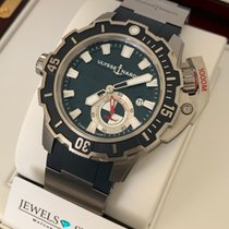 Ulysse Nardin Titanium Automatic Blue No numerals 46mm new Hammerhead Shark