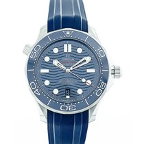 Omega Seamaster Diver 300M Omega Co-Axial Master Chronometer...