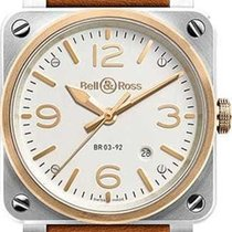 Bell & Ross BR 03-92 Steel new Automatic Watch only BR0392-ST-PG-SCA