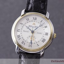 Maurice Lacroix 38mm Automatik 2000 gebraucht Masterpiece (Submodel) Silber