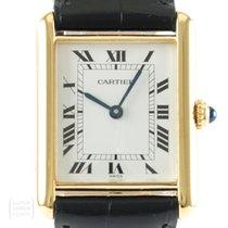 Cartier 590005 Silber Tank Vermeil 23mm