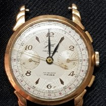 Chronographe Suisse Cie Geelgoud 33,5mm Handopwind 627002 tweedehands