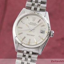 Rolex Lady-Datejust Zlato/Zeljezo 30.5mm Srebro