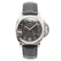 Panerai Luminor 1950 3 Days GMT Power Reserve Automatic Steel 42mm Black