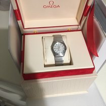 Omega Constellation Quartz Acier 24mm Nacre Romain France, Maisons Laffitte