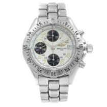 Breitling Colt Chronograph Automatic pre-owned 41mm White Chronograph Date Tachymeter Steel