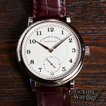A. Lange & Söhne Yellow gold Manual winding Silver pre-owned 1815
