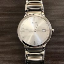Rado Centrix pre-owned 38mm Silver Date Steel