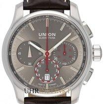 Union Glashütte Steel 43mm Automatic D002.427.16.081.00 new
