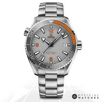 Omega Seamaster Planet Ocean Titanium 44mm Grey No numerals