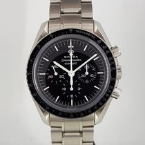 歐米茄 Speedmaster Professional Moonwatch 鋼 42mm 黑色 無數字