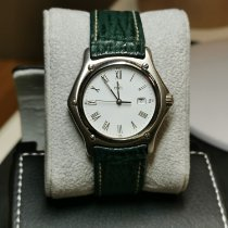 Ebel 1911 pre-owned 35mm White Leather