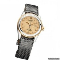 Tudor Glamour Date 53003 - Glamour Date 31 Mm Stell and Gold Case новые