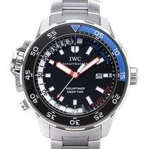IWC Aquatimer Deep Two новые Автоподзавод Часы с оригинальными документами и коробкой