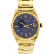 Rolex Midsize Vintage Rolex Datejust 18K Yellow Gold 6824